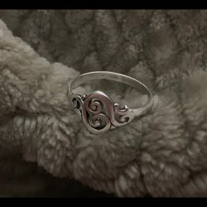James Avery Sterling Silver Spanish Swirl Ring